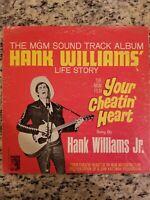 The MGM Track Album Hank Williams' Life Story Vintage Vinyl Record LP 1964