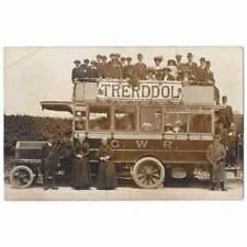 More details for tre'r-ddol trerddol gwr motor bus, cardiganshire rp postcard unused