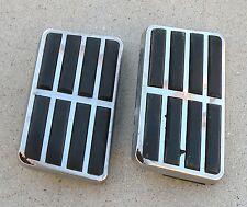 THUNDERBIRD FORD POWER BRAKE PEDAL PAD STAINLESS STEEL TRIM OEM 1963-1964 63-64