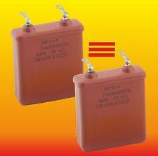 2 uF 630 V Strong Matched Russian Paper In Oil Pio Audio Capacitors Mbgo МБГО-1