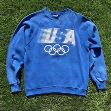 Rare VTG 80s Levis USA Olympics Crewneck Sweat Shirt Large