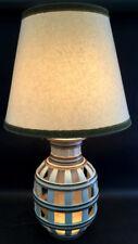 Contemporary Porcelain Table Lamp W/ Lit Base Lot 2330