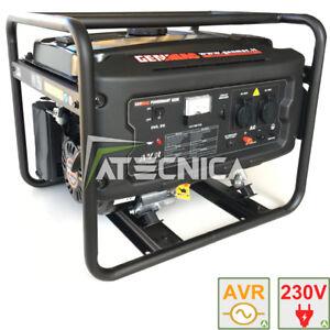 Engine-Generator 2,2 Kw Genmac G2200 Power Generator Rato Avr Stabizzat