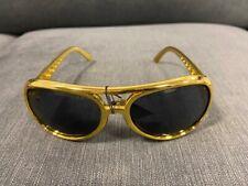 Elvis Presley sunglasses TCB Glasses Costume Gold Look Alike The King RocknRoll