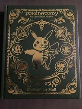 Pokenatomy Unofficial Pokemon Anatomy Guide Book Leather Hardcover *IN HAND*