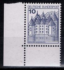 BRD Burgen und Schlößer Mi. - Nr. 913 A I u Ecke unten links postfrisch