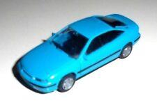 car 1/87 RIETZE 10410 OPEL CALIBRA 1989 TURQUOISE BLUE NEW NO BOX