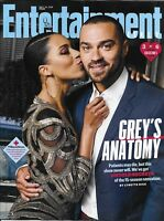 Entertainment Weekly Magazine Grey's Anatomy Emmy's Toronto Film Festival 2018
