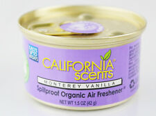 California Scents Car & Home Long Lasting Tin Air Fresheners - Monterey Vanilla
