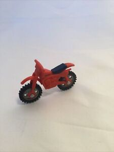 Vintage, 1982 Tonka dirtbike toy. Made in Hong Kong.