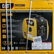 New listing Cat Inv2000 Quiet 1800W Running Gas Portable Inverter Generator 522-2700 New