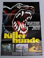 KILLERHUNDE / DOGS * David McCallum  A1-Kinoposter - German 1-SHEET 1977 HORROR