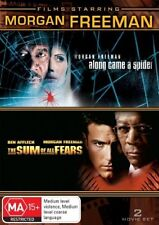 Morgan Freeman - Sum Of All Fears / Along Came A Spider DVD, 2-Disc Set R4 PAL