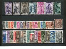 REP006 - ITALIA REPUBBLICA 1955 ANNATA COMPLETA FRANCOBOLLI USATI