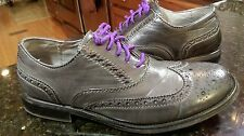STEVE MADDEN WINGTIP DRESS SHOES MENS 10 STYLE: HARLOW BLACK