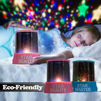 LED Star light Starry Night Sky Projector Lamp Cosmos Master Romantic Kids Gift