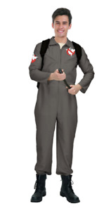 Adult Ghost Busters Costume Ghostbusters Hunter Movie Halloween Jumpsuit Fighter
