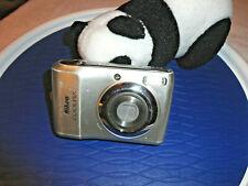 Nikon CoolPix L19 Silver Digital Camera 8MP