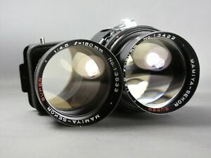 Mamiya Sekor Super 180mm f/4.5 Lens **Recently CLA'd**