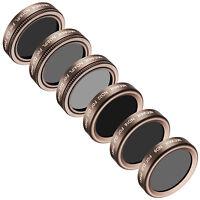 Neewer 6pcs Filter Kit ND4/PL ND8/PL ND16/PL ND8 ND16 ND32 for DJI Phantom 4 Pro