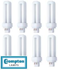 Crompton 10 W double tour PL-C 4 broches G24q-1 840 blanc froid CLDE 10SCW-Boîte de 10