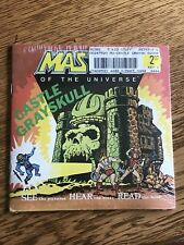 Heman Masters Of The Universe Talking Story Book New Sealed Unopened