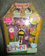 LALALOOPSY MINI BLOSSOM'S A BUSY BEE FIGURE SERIES 6 #4 2ND EDITION VERY RARE
