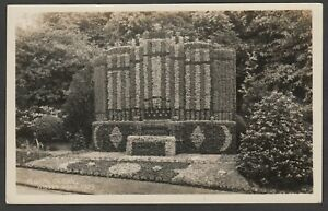 Postcard Bradford Yorkshire the Floral Organ in Wibsey Park 1929 RP