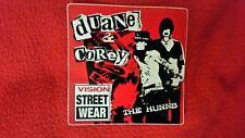 "Vision Street Rare ""Duane Peters & Corey Duffel"" Vintage Skateboard Sticker"