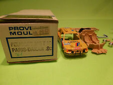 PROVENCE MOULAGE KIT PEUGEOT 205 T16 - 12e PARIS DAKAR - 1:43 - VG IN BOX