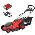 20 In. 40-Volt Cordless Battery Hand Walk Behind Push Mower With Battery/Charge