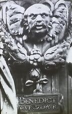 Detail of Fountain in Nuremberg, Germany, Magic Lantern Glass Slide