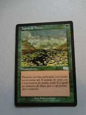 MTG MAGIC THE GATHERING CARD FBB URZA'S SAGA CARPET OF FLOWERS GREEN Portuguese