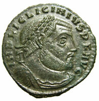 Licinius Æ Follis 23mm (312-313 AD), Thessalonica mint