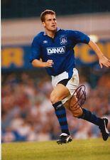 Craig Short main signé Everton 12x8 photo.