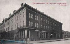 Postcard Echange Hotel Franklin PA