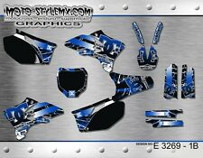 Yamaha YZf 250 450 2003 up to 2005 graphics decals stickers kit Moto StyleMX