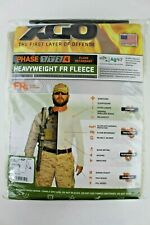 Men's XGO Base Layer Heavyweight Flame Retardant Long Sleeve Top Sand Size: XL