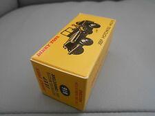 Boite dinky toys identique à l'origine JEEP HOTCHKISS avec CONDUCTEUR - 816