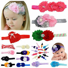 14pcs Lots Mix Baby & Girl Headbands with Hair Bow Flower Photograph Holiday