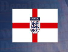 ENGLAND 3 LIONS/GEORGE CROSS World Cup Car/Van/Bumper/Window Printed Sticker