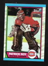 Patrick Roy --1989-90 Topps Hockey Card--Montreal Canadiens