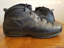 Air Jordan XVIII 18.5 Og Black University Blue  306890-002 Mens size 9.5