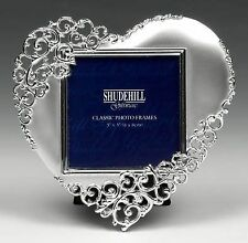 Heart Silver Photo & Picture Frames