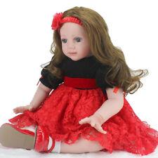 "24""Reborn Baby Dolls Newborn Doll Toddler Handmade Vinyl Silicone Christmas Gift"