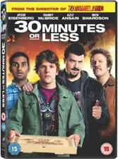 Jesse Eisenberg, Danny McBride-30 Minutes Or Less  DVD NUOVO