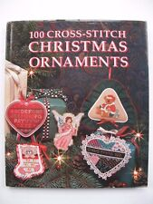 100 CROSS-STITCH CHRISTMAS ORNAMENTS – embroidery designs