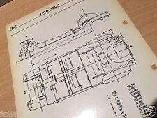 Fiat 1100 - 1200  Maßplan Bodengruppe
