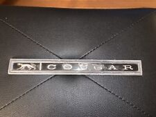Vintage Mercury Cougar Emblem 25313