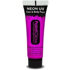 Paint Glow UV Disfraz Pintura de cara y Cuerpo Maquillaje 10ml tubo NUEVO